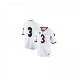 Todd Gurley Georgia Bulldogs Player Men Limited Jerseys - #3 White