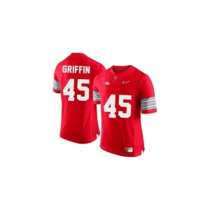 Archie Griffin Ohio State University For Men Game Jersey - #45 Red Diamond Quest Patch