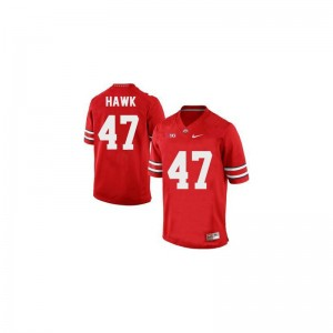 A.J. Hawk Ohio State Buckeyes Alumni Men Game Jerseys - #47 Red