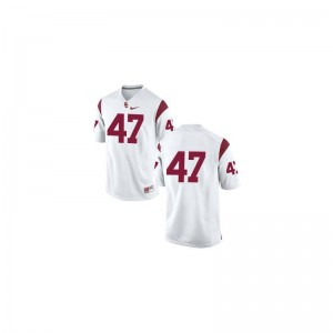 Clay Matthews Trojans Player Men Game Jersey - #47 White