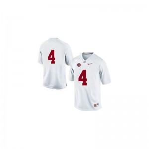 T.J. Yeldon Bama University Mens Game Jersey - #4 White