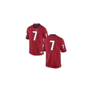 Matthew Stafford University of Georgia College For Men Game Jersey - #7 Red