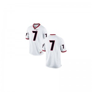 Matthew Stafford UGA Bulldogs NCAA For Men Game Jersey - #7 White