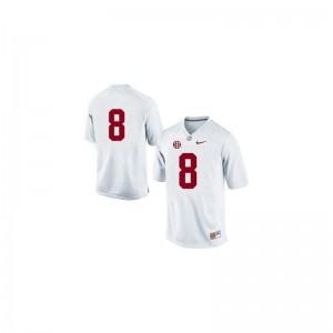 Julio Jones Bama High School Mens Game Jerseys - #8 White