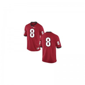 A.J. Green Georgia Bulldogs High School Mens Limited Jerseys - #8 Red