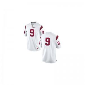 JuJu Smith-Schuster USC Trojans NCAA Men Game Jersey - #9 White