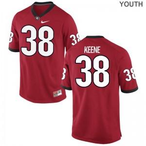 Michael Keene University of Georgia Alumni Youth Limited Jerseys - Red