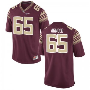 Mike Arnold Florida State Football Mens Game Jersey - Garnet