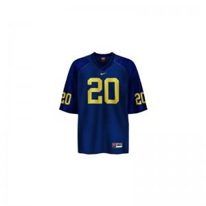 Mike Hart University of Michigan High School Men Game Jersey - Blue
