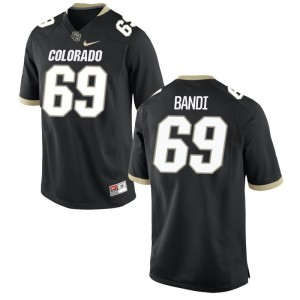 Mo Bandi Buffaloes Football Youth(Kids) Game Jersey - Black