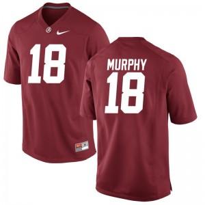 Montana Murphy Alabama NCAA Men Game Jerseys - Red