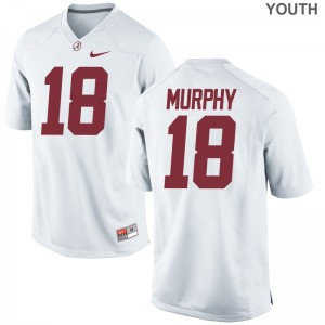 Montana Murphy Alabama Crimson Tide University For Kids Game Jerseys - White