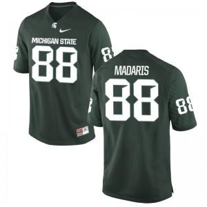 Monty Madaris MSU NCAA For Men Game Jerseys - Green