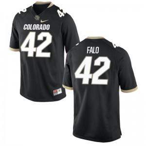 N.J. Falo UC Colorado University Youth Game Jerseys - Black