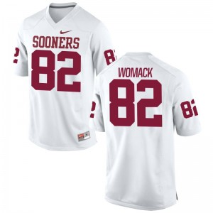 Nathan Womack Oklahoma Sooners Player For Men Limited Jerseys - White