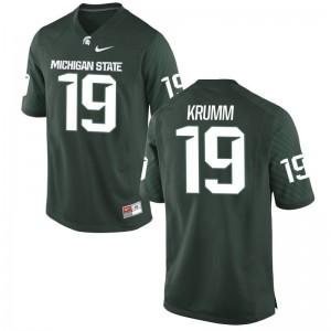 Nick Krumm MSU Football For Men Limited Jersey - Green
