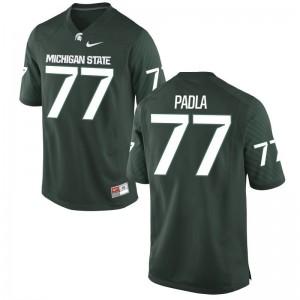 Nick Padla MSU Official Men Limited Jerseys - Green
