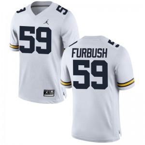Noah Furbush University of Michigan Football Mens Game Jerseys - Jordan White