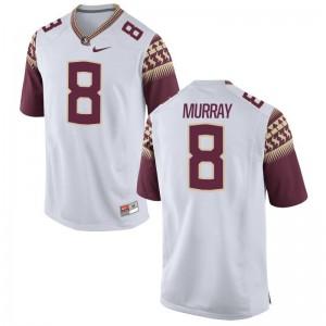 Nyqwan Murray FSU University Men Game Jerseys - White