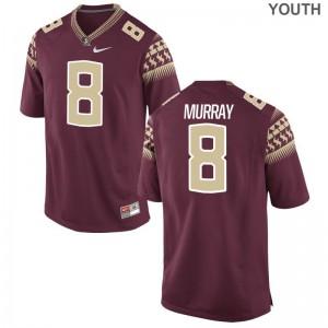 Nyqwan Murray Florida State Seminoles NCAA For Kids Limited Jerseys - Garnet