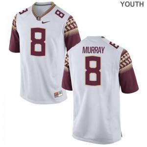 Nyqwan Murray Florida State Seminoles University Kids Limited Jerseys - White