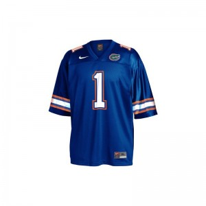 Obama Florida Gators NCAA Mens Game Jerseys - Blue