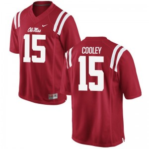 Octavious Cooley Ole Miss University Mens Limited Jerseys - Red