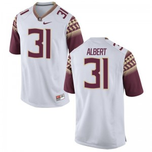 Omari Albert Seminoles University For Kids Game Jersey - White