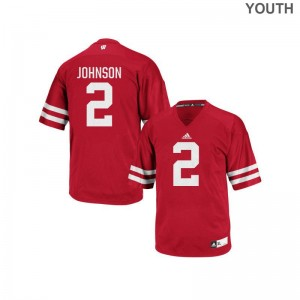 Patrick Johnson Wisconsin High School For Kids Authentic Jersey - Red