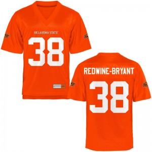 Philip Redwine-Bryant Oklahoma State Cowboys College Men Limited Jersey - Orange
