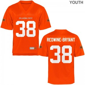 Philip Redwine-Bryant OK State High School Youth Game Jersey - Orange