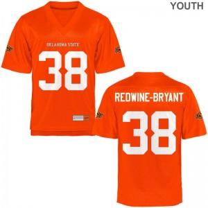 Philip Redwine-Bryant OSU Cowboys College Youth Limited Jersey - Orange
