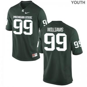 Raequan Williams Michigan State Alumni Kids Game Jerseys - Green