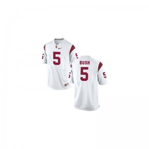 Reggie Bush USC Official Men Game Jersey - White