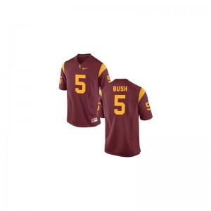 Reggie Bush Trojans NCAA For Men Limited Jerseys - Cardinal