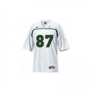 Reggie Wayne Miami College Kids Game Jerseys - White