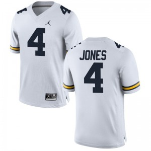 Reuben Jones Wolverines High School Men Game Jersey - Jordan White