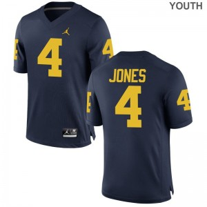 Reuben Jones Michigan Alumni For Kids Game Jerseys - Jordan Navy