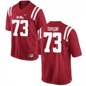 Rod Taylor Ole Miss NCAA Mens Limited Jersey - Red