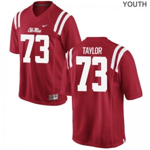 Rod Taylor University of Mississippi University For Kids Game Jersey - Red