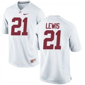 Rogria Lewis Alabama College Kids Game Jerseys - White
