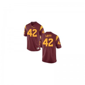 Ronnie Lott USC Official Mens Limited Jerseys - Cardinal