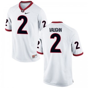 Sam Vaughn Georgia NCAA Youth(Kids) Limited Jersey - White