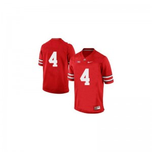 Santonio Holmes OSU Official For Men Game Jersey - Red