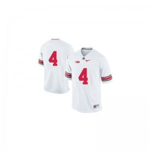 Santonio Holmes OSU University For Men Game Jerseys - White