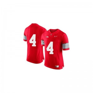 Santonio Holmes Ohio State Buckeyes Official Youth Limited Jersey - Red Diamond Quest Patch