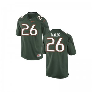 Sean Taylor Miami NCAA For Kids Game Jerseys - Green