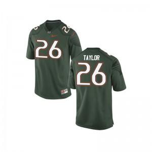 Sean Taylor Miami NCAA For Kids Game Jerseys - Green