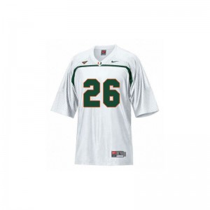 Sean Taylor Miami High School For Kids Game Jerseys - White