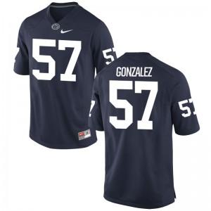 Steven Gonzalez Penn State Football Youth(Kids) Game Jersey - Navy